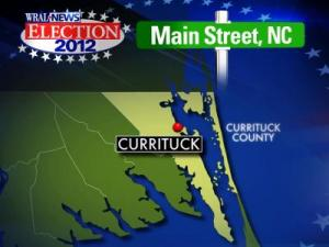 Currituck map for Main Street election preview series