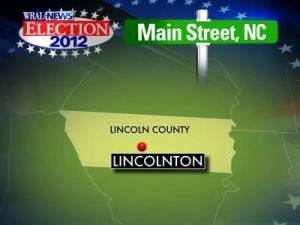 Lincolnton map for Main Street election preview series