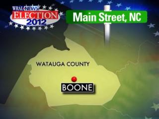Boone map for Main Street election preview series