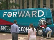 Obama-Biden gotta vote bus
