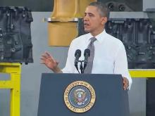 Obama takes jobs plan to Asheville