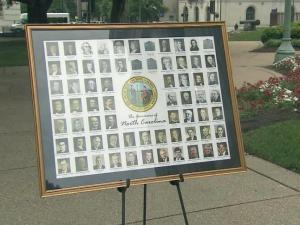 North Carolina students will get a new look this fall at the 67 men and one woman who have led state government. The North Carolina Bankers Association will provide a poster, free of charge, featuring each governor to all schools across the state.