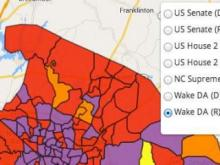 Wake County precinct results
