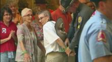 IMAGES: Despite new rules, Moral Monday protests return to legislative building