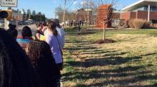 Voting line in Durham