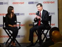 Roy Cooper Exit Event interviews