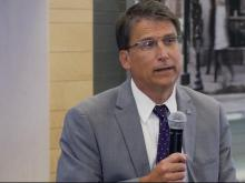 Pat McCrory candidate conversation with ExitEvent