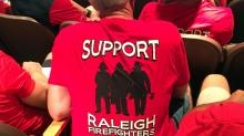 Support Raleigh firefighters shirt