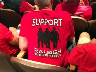 Support Raleigh firefighters shirt