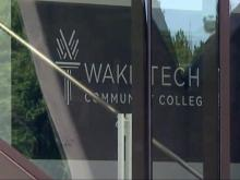 Wake Tech sign, Wake Technical Community College