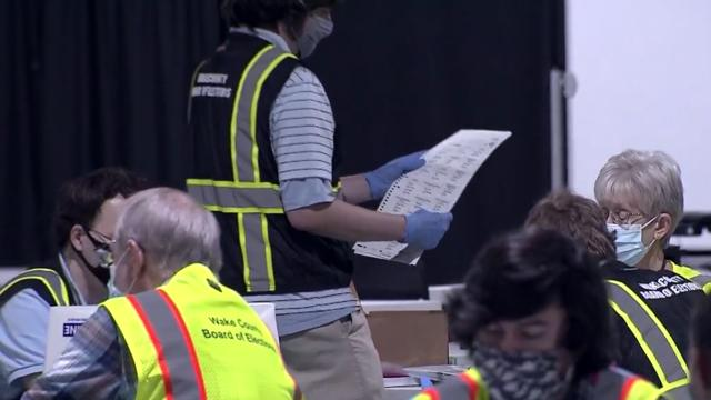 Wake has biggest chunk of NC's outstanding absentee ballots