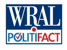 WRAL PolitiFact logo