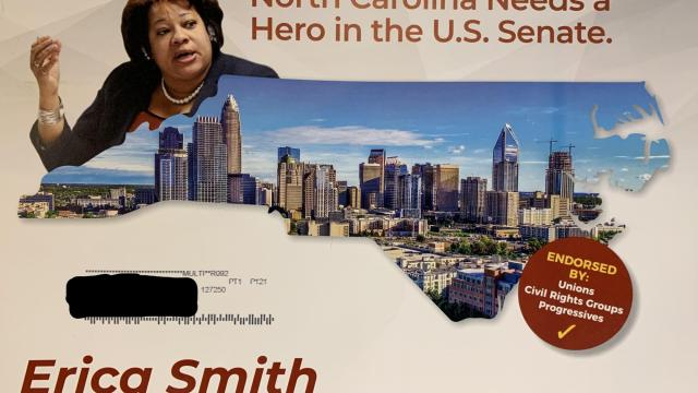 Pro-Smith mailer from Faith and Power PAC