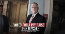 IMAGES: Fact check: Ad says Tillis supported a raise for himself but not the military