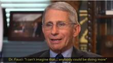 IMAGES: Fact check: Trump ad takes Fauci comments out of context