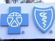 Blue Cross sign