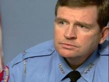 Web only: Raleigh police chief on expenses, officer morale
