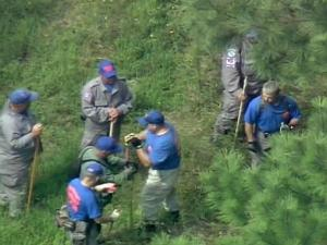 Johnston County search and rescue personnel searched a rural area of Edgecombe County Wednesday.