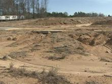 Construction sites abandoned in Raleigh