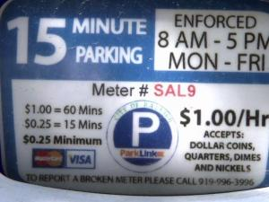 Consolidated parking pay stations have increased revenue for the City of Raleigh.