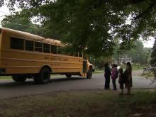 Durham students wait for bus near home shared by 11 sex offenders