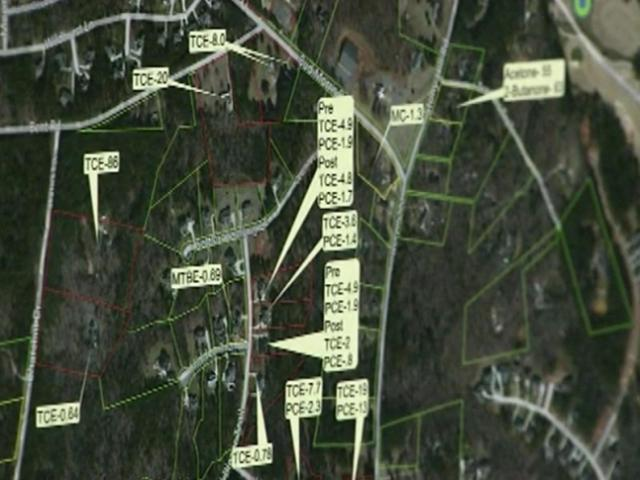 Two small circuit board assembly companies who were formerly located on Stony Hill Road near Wake Forest are likely responsible for contaminating the well water at 21 nearby homes, the North Carolina Department of Environment and Natural Resources said Wednesday.