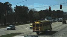 IMAGE: Red-light cameras capture dozens of Wake school buses