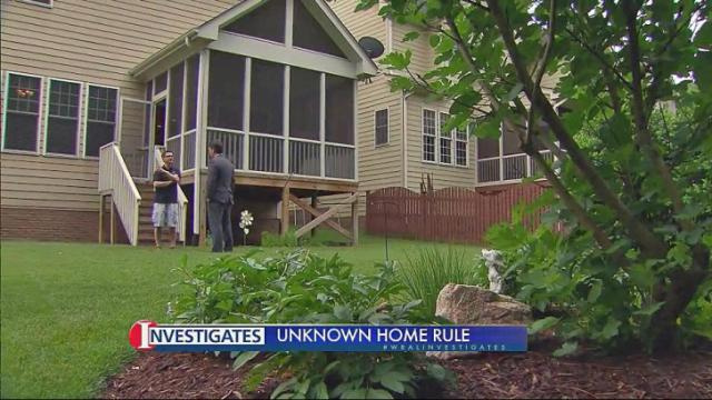It Was A Nightmare Man Warns Nc Homeowners About Little Known Land
