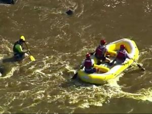 Inexperienced boaters and rafters get stuck on the Haw River, triggering expensive rescue operations.