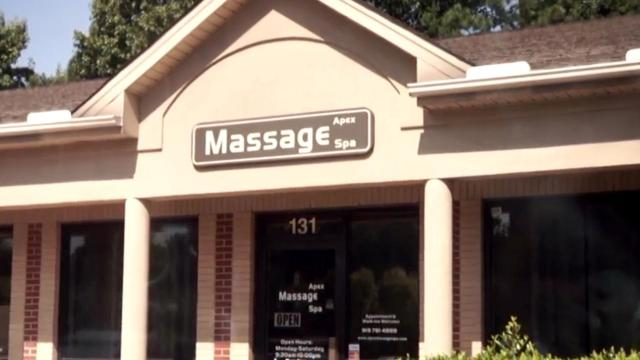 Asian massage parlor asheville