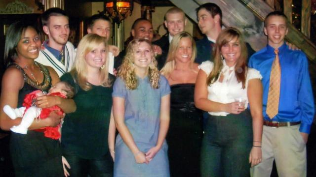 Griggs wedding friends