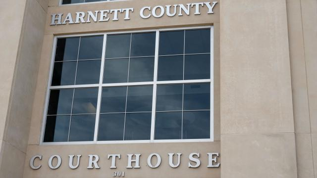 Harnett County courthouse