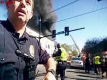 Durham body-cam video from explosion