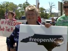ReOpenNC protest