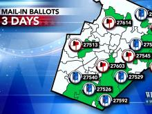 Will your vote count this fall? WRAL puts mail system to the test