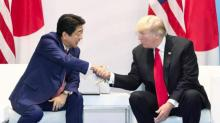 Trump, Japan PM talk 'grave' North Korea threat