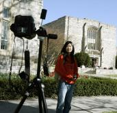What is the face of Virginia Tech? Let the Hokies show you for themselves. AP photographer Evan Vucci set up a remote camera to give students and alumni an opportunity to capture their own emotions.