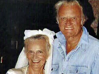 Ruth and Billy Graham, in an undated photo, met more than 60 years ago when they were students at Wheaton College. They married in 1943 and had five children.