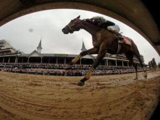 SATURDAY: Calvin Borel rides Mine That Bird to a victory during the 135th Kentucky Derby horse race at Churchill Downs in Louisville, Ky. (AP Photo/John Flavell)