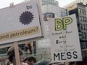 Oil spill disaster PR nightmare for BP