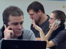 Obama campaign volunteers working overtime for re-election