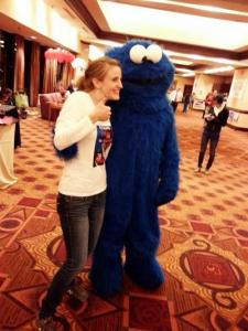 Cookie Monster at NC GOP party