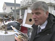 Billy Graham's evangelist son visits Sandy survivors