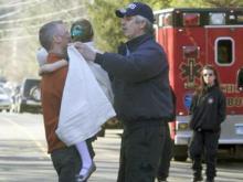 Twenty children and six adults were shot to death Dec. 14, 2012, at Sandy Hook Elementary School in Newtown, Conn.