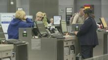 IMAGE: RDU feels ripple effect from snowstorm