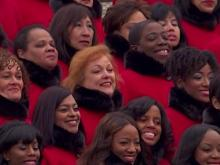 Brooklyn Tabernacle Choir performs 'Battle Hymn of the Republic'