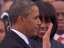 President Obama takes oath