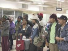 NCCU students protest peacefully after Ferguson verdict