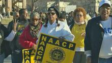 IMAGE: Ferguson protesters begin long march to state capital
