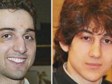 Tamerlan Tsarnaev, left, and Dzhokhar Tsarnaev